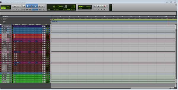 atlanta trap recording template