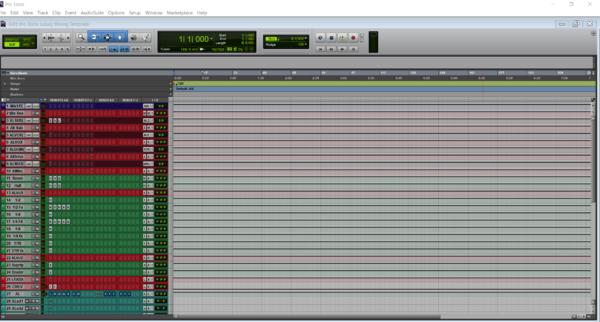 bchillmusic.com Pro Tools Mixing Template