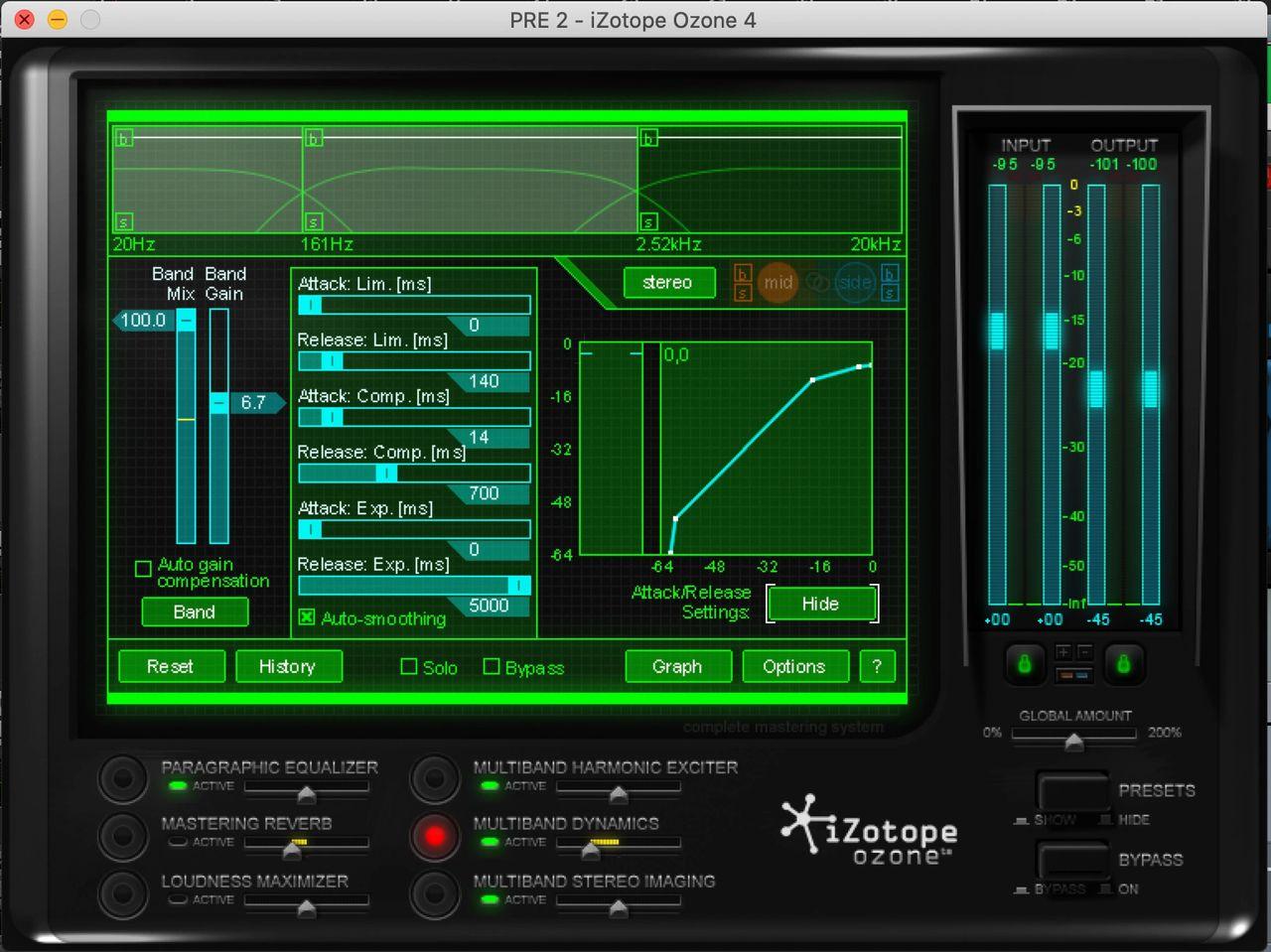 Jaycen Joshua iZotope Ozone 4 Mixing Presets | Mix Bus Chain