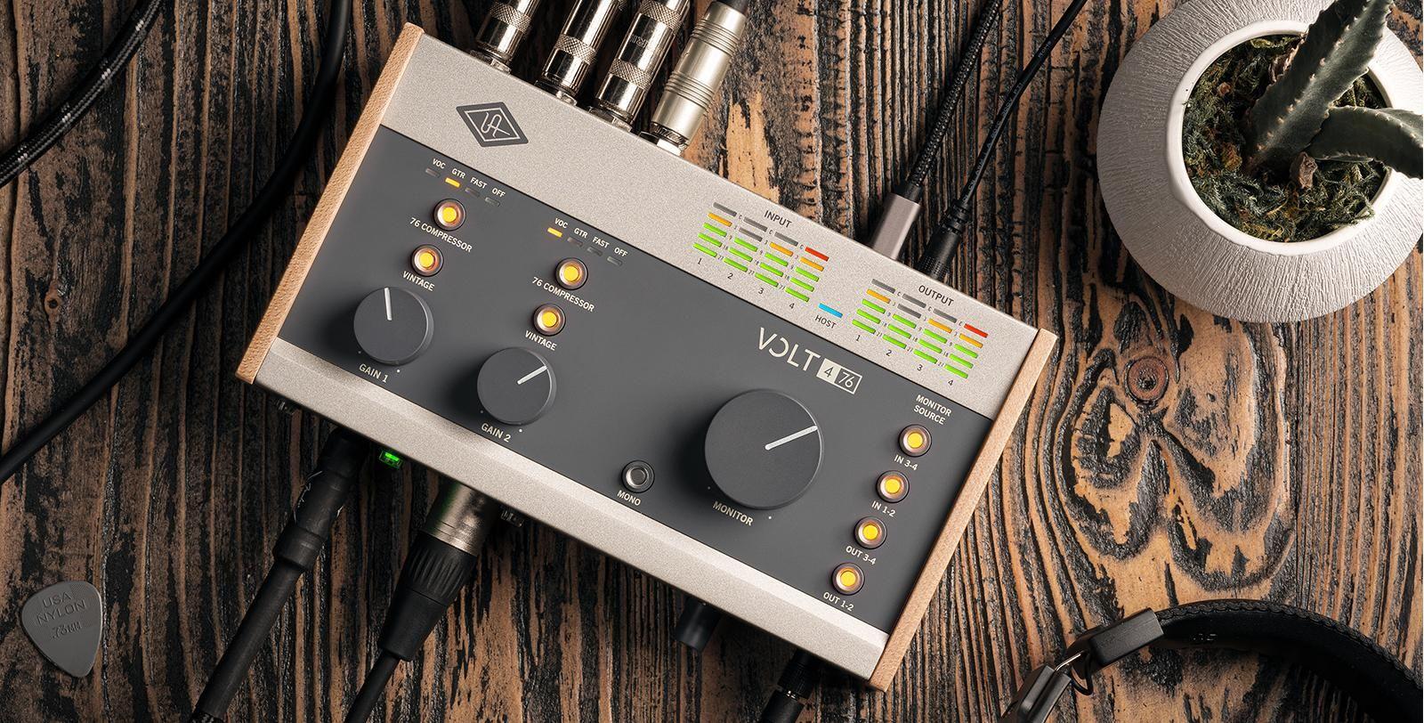 Universal Audio Volt | UAD Audio Interfaces